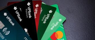 Lãi suất thẻ tín dụng Vp Bank