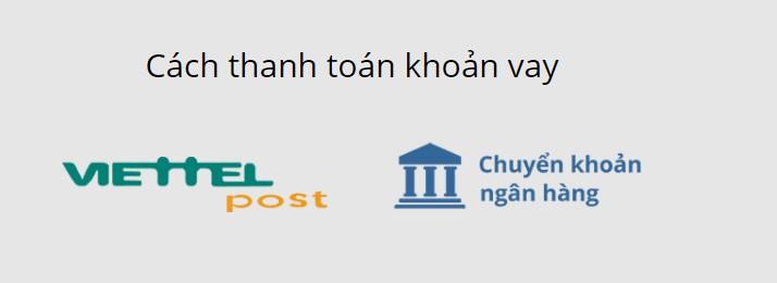 Các cách thanh toán khoản vay với Moneycat