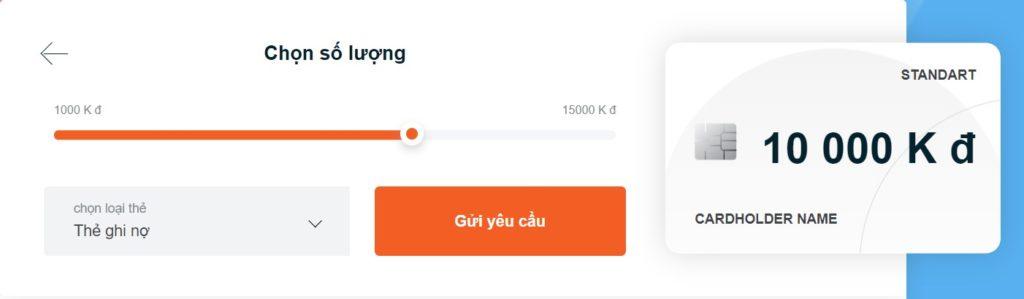 Bước gửi yêu cầu vay tiền đầu tiên tại trang chủ của Visame.vn